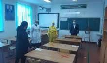 Түркістан облысында бастауыш сынып оқушыларына мектепте оқуға рұқсат етілді