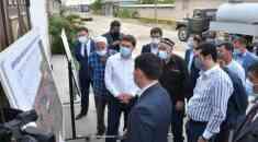 Қала әкімі «Сайрам» тұрғын алабындағы жол құрылысының барысымен танысты